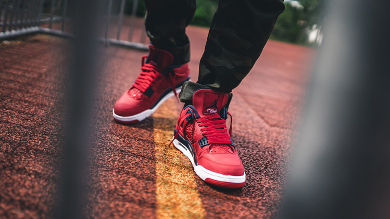 Jordan 4 FIBA Red   Where To Buy