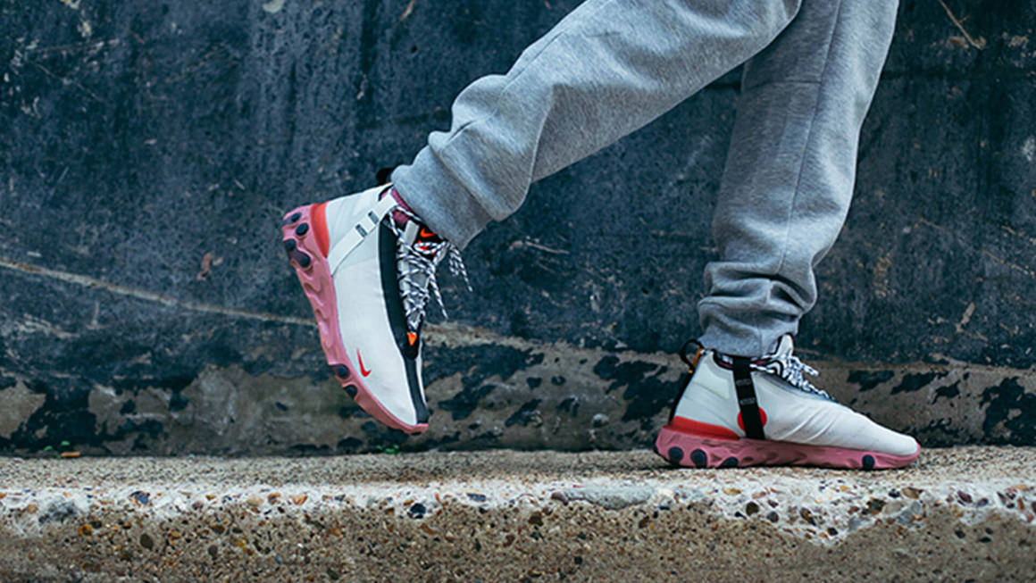 Latest Nike React Runner Mid ISPA Trainer Releases & Next Drops ...