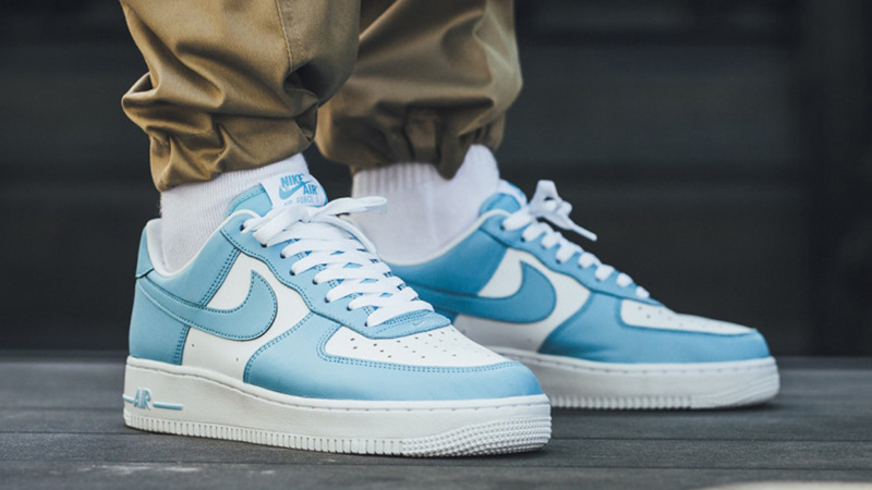 Nike Air Force 1 Low Blue Gale Where To Buy Aq4134 400 The