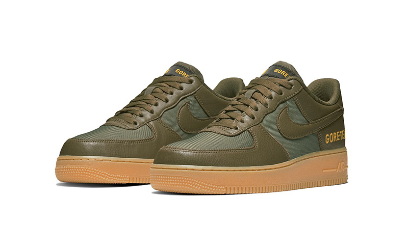 nike air force 1 green low