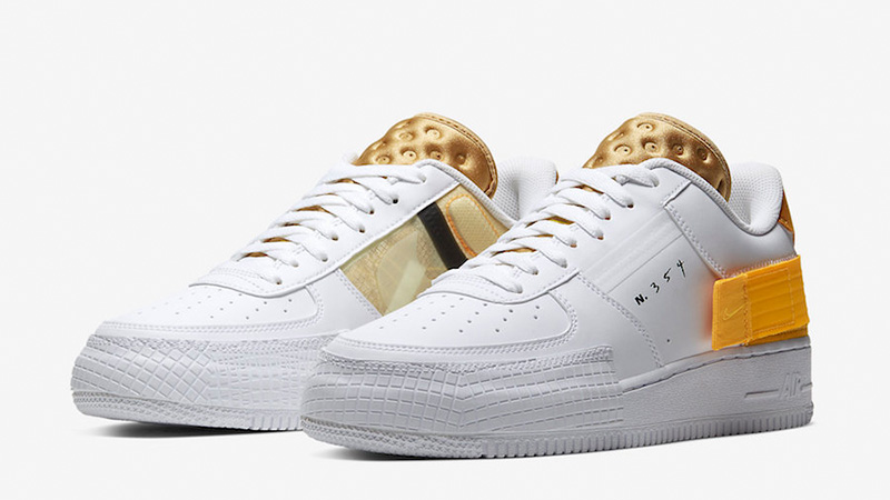 Buy > nike air force 1 white gold - 64% OFF online