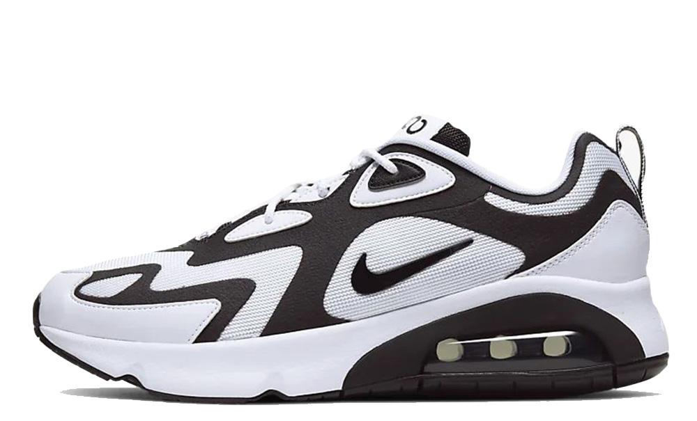 Nike Air Max 200 White Black AQ2568-104 front