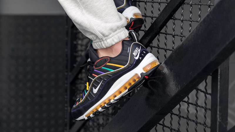 Nike Air Max 98 Black Multi Where To Buy Bv0989 023 The Sole