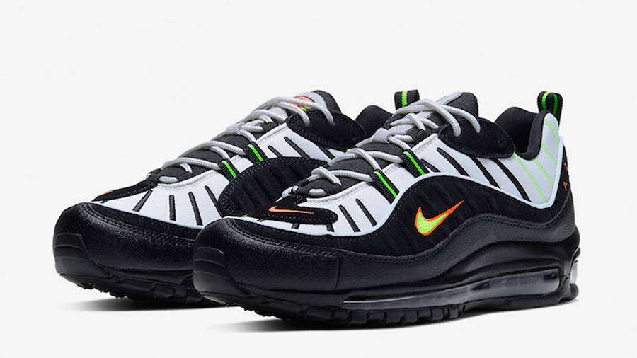 Adviento sufrimiento varonil  Nike Air Max 98 Highlighter | Where To Buy | 640744-015 | The Sole Supplier
