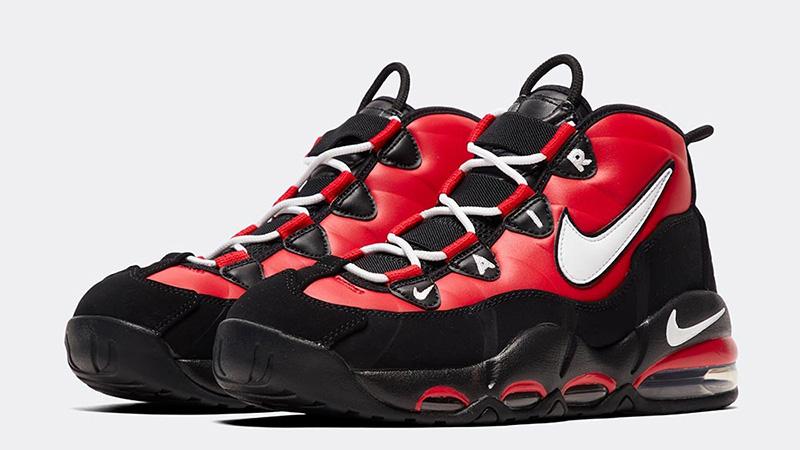 Polinizador fuego sin embargo  Nike Air Max Uptempo 95 Red White Black | Where To Buy | CK3480-700 | The  Sole Supplier