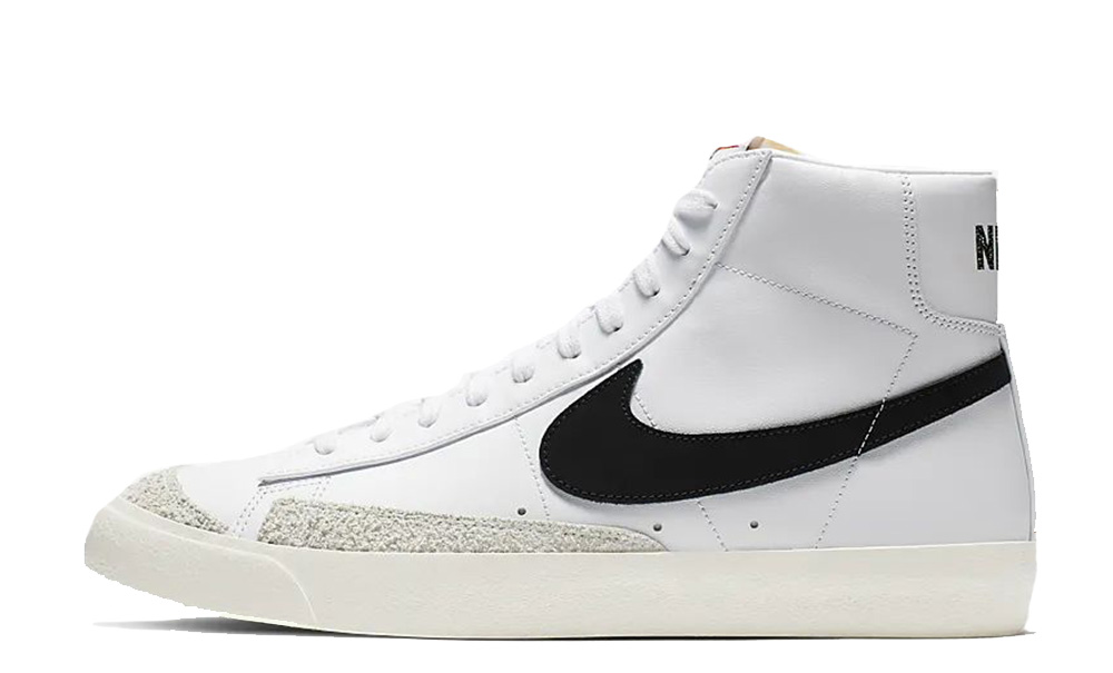 Escribe un reporte precedente Delgado  Nike Blazer Mid 77 Vintage White Black - Where To Buy - BQ6806-100 ...