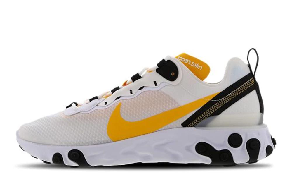 Nike React Element 55 Gold White CI3831-100