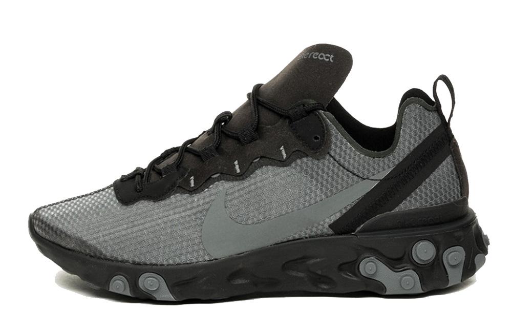 Nike React Element 55 SE Black Grey CI3831-001