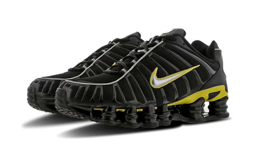 Astronave Ejemplo Petición  Nike Shox TL Black Yellow - Where To Buy - CN0151-002 | The Sole Supplier