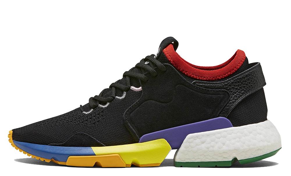 Social Status x adidas POD Black Multi F34324