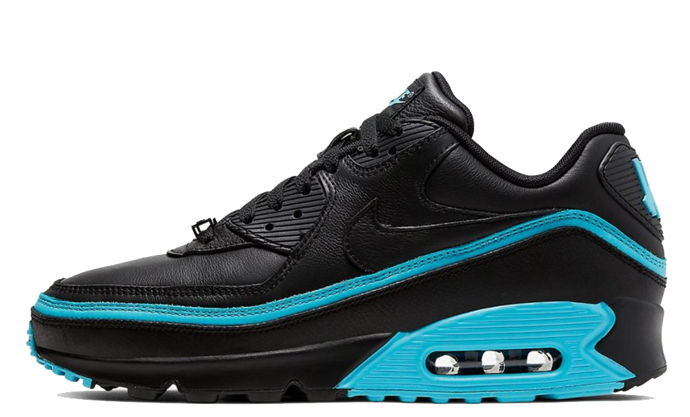 UNDEFEATED x Nike Air Max 90 Black Blue CJ7197-002