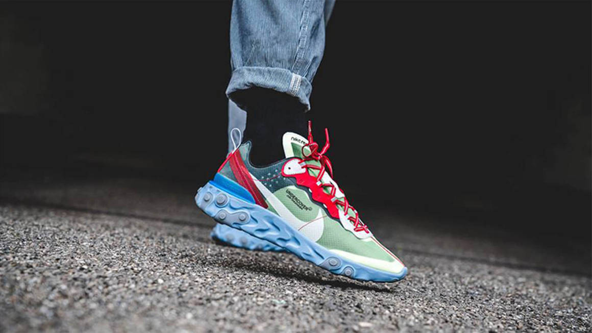 más Mayor Dedicar  Latest UNDERCOVER x Nike React Element 87 Trainer Releases & Next Drops |  The Sole Supplier