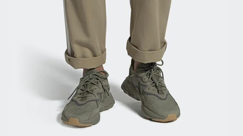 adidas ozweego kaki cargo