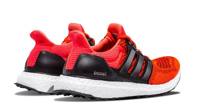 adidas Ultra Boost 1 Solar Red FU6648 back
