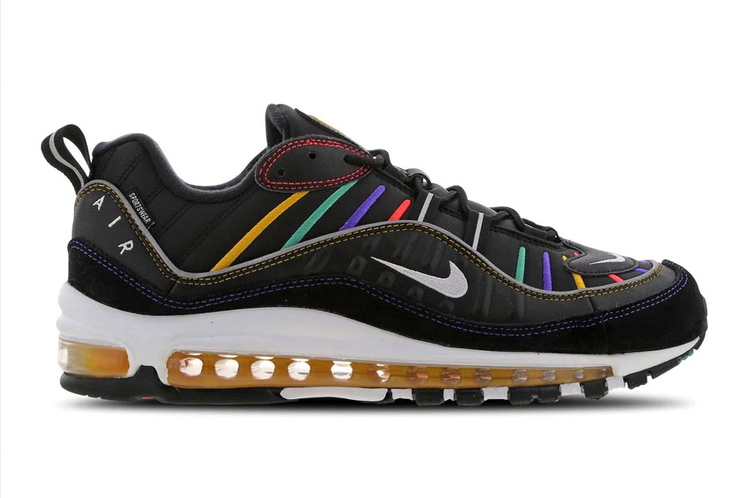 The Nike Air Max 98 'Multicolor' Is A Creptember Essential