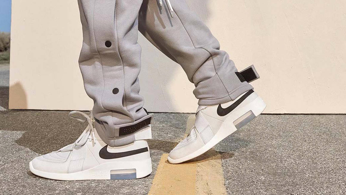 fear of god low top nike