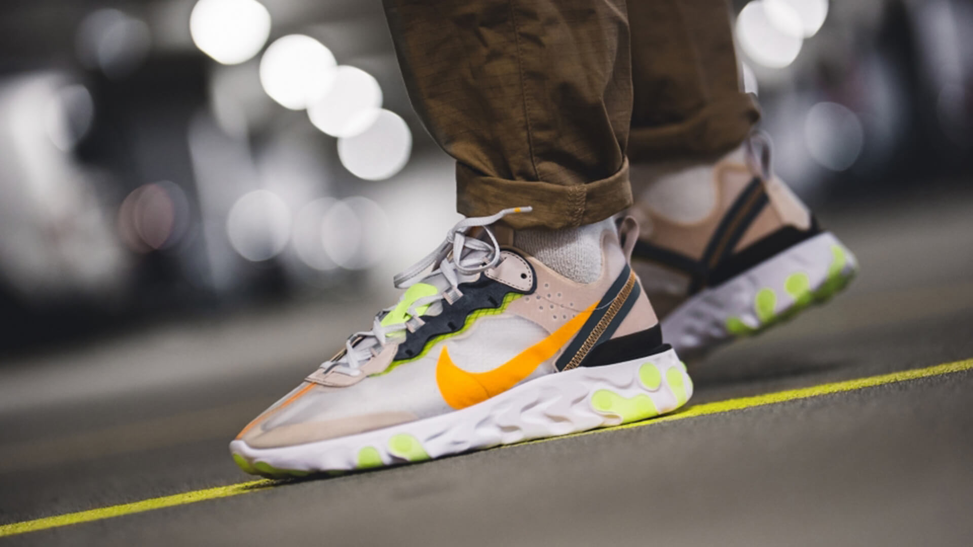 Schuhe Nike REACT ELEMENT 87