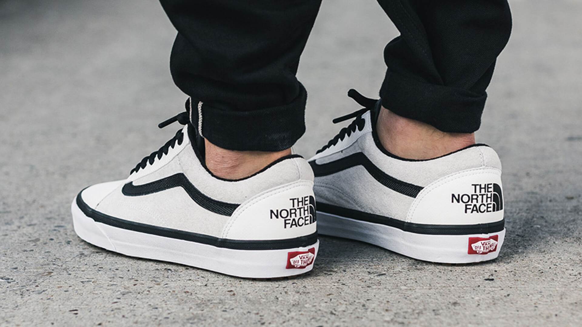 Vans Old Skool White And Black Gum Sole @ Best Prices