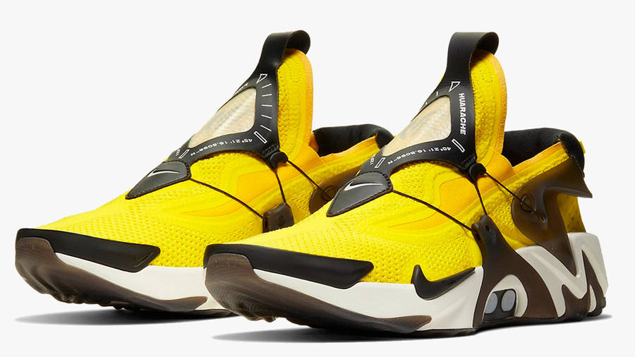 Nike Adapt Huarache Yellow   Where To Buy   CT4089-710   The Sole ...