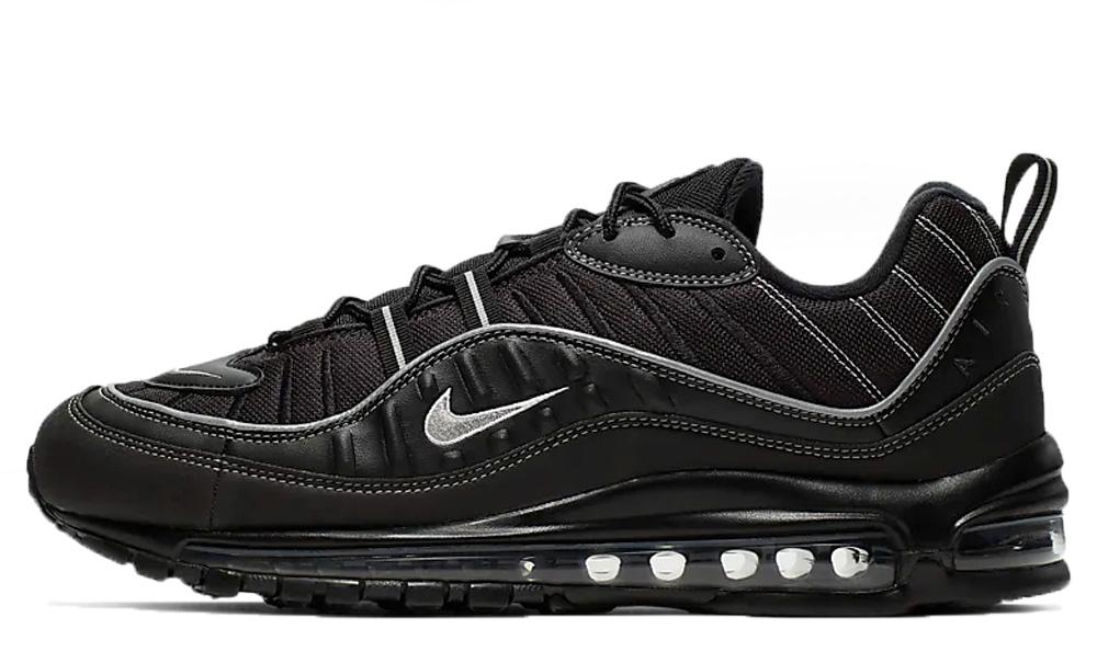 Nike Air Max 98 Black Oil Grey | 640744-013
