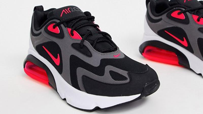 Nike Air Max 200 Black Red