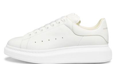 Alexander McQueen Exaggerated-Sole White 553680WHGP59000