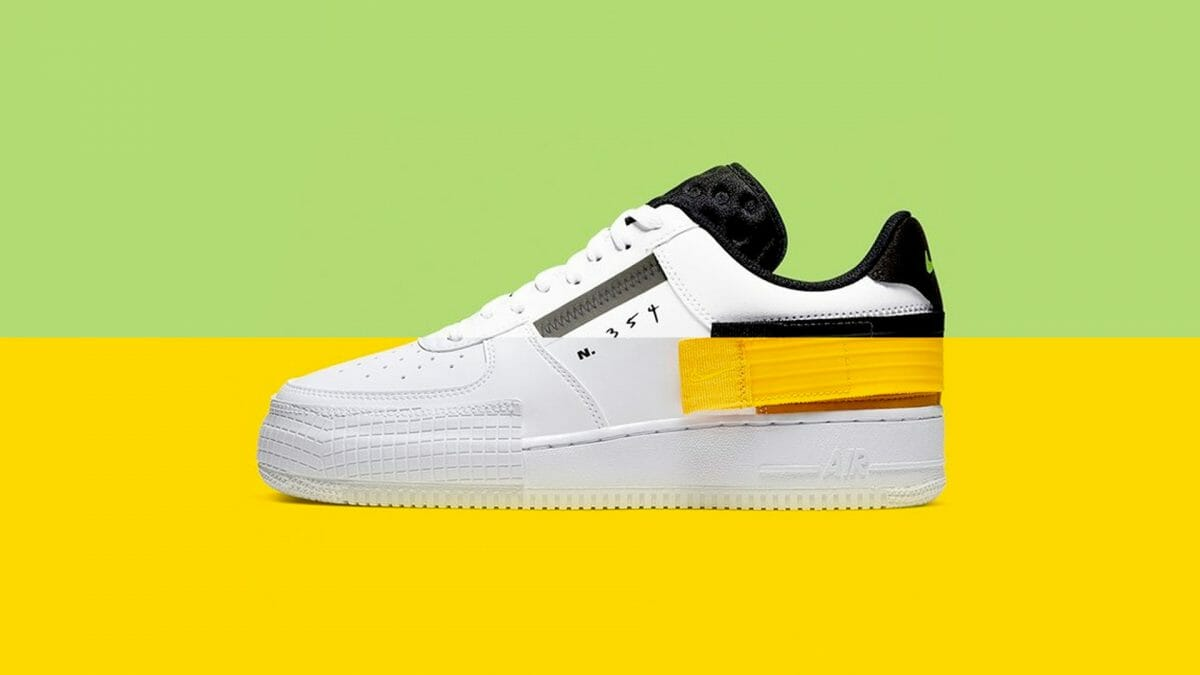Just Launched At Nike UK: The Air Force 1 Low 'Type' Is Now Available In Three NEW Colourways