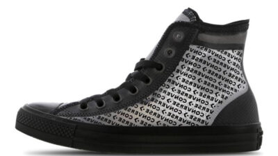 Converse Chuck Taylor All Star Translucent High Black 165668C front