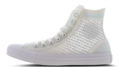 Converse Chuck Taylor All Star Translucent High White 165609C frontr
