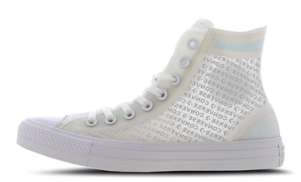 Converse Chuck Taylor All Star Translucent High White 165609C