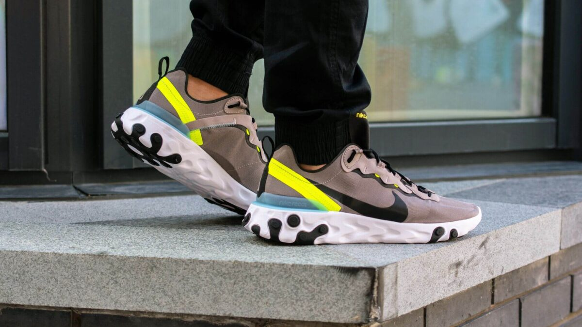 The Nike React Element 55 Grey Volt Is JUST £80 | The Sole