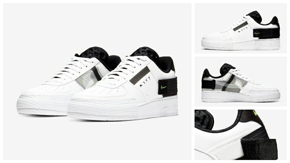 Just Launched At Nike UK: The Air Force 1 Low 'Type' Is Now Available In Three NEW Colourways 2