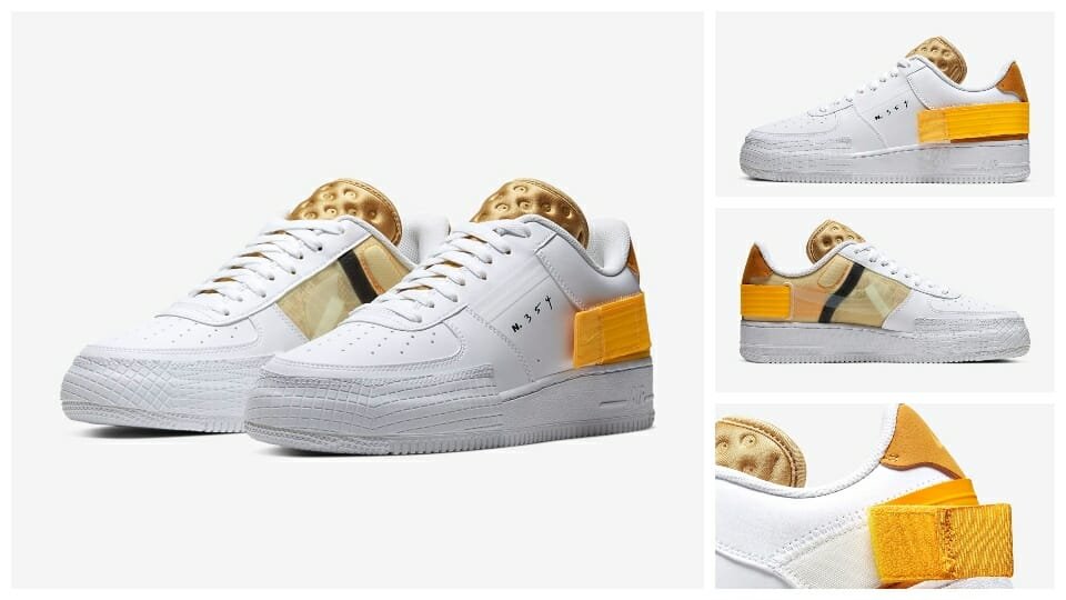 Just Launched At Nike UK: The Air Force 1 Low 'Type' Is Now Available In Three NEW Colourways 3