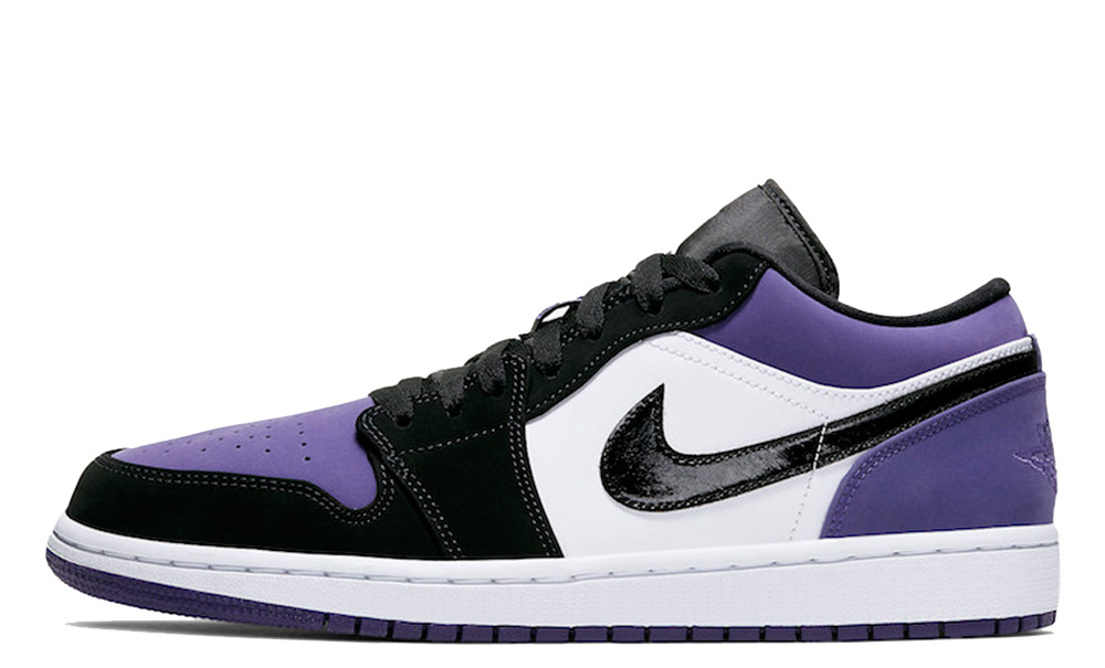 Jordan 1 Low Court Purple 553558-125