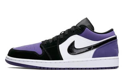 Jordan 1 Low Court Purple 553558-125