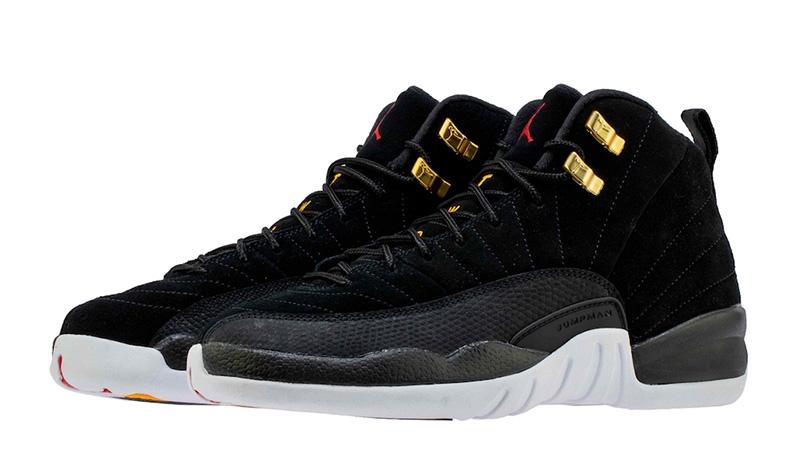 Jordans 12 Jordan 12 Reverse Taxi Black - Where To Buy - 130690-017 | The ...
