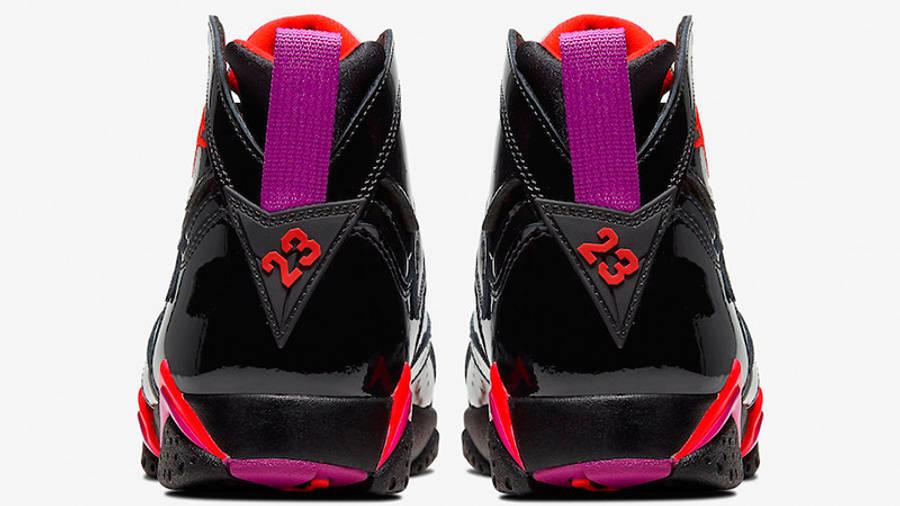 Jordan 7 Black Gloss 313358-006 back