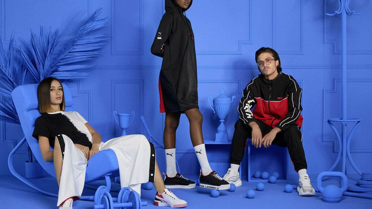 Karl Lagerfeld x PUMA Come Together For Fall Winter 2019