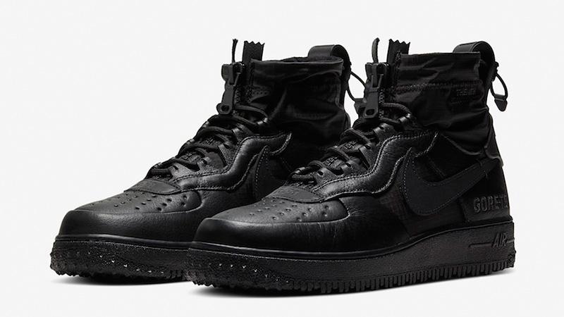 nike air force black high