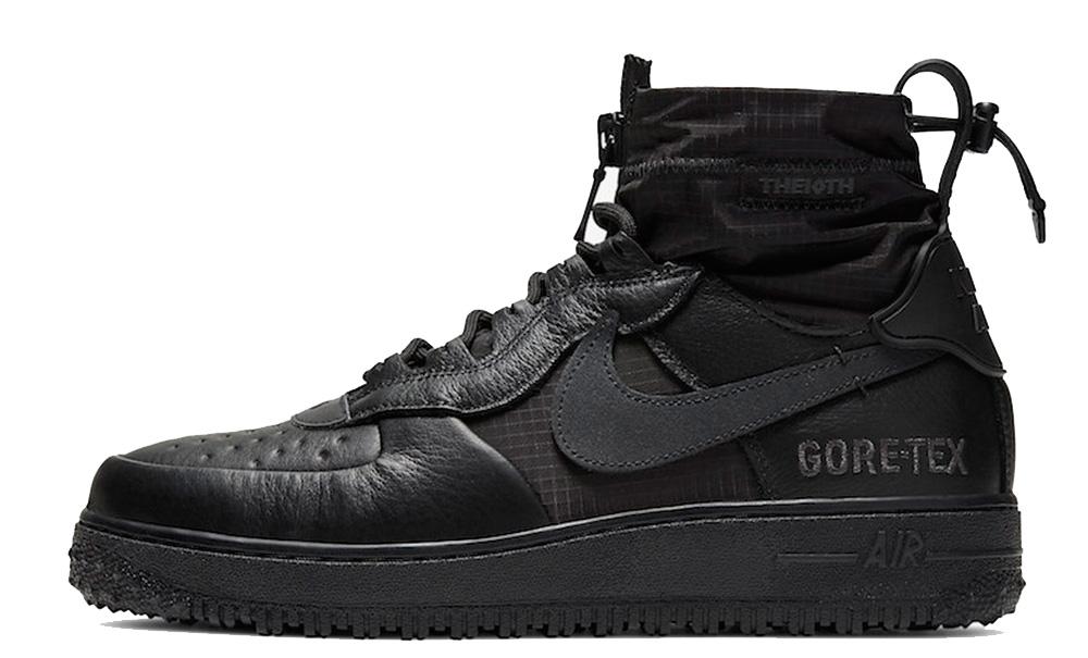 Nike Air Force 1 High Gore-Tex Triple Black CQ7211-003