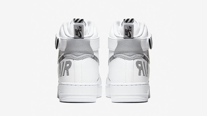 Nike Air Force 1 High White Grey