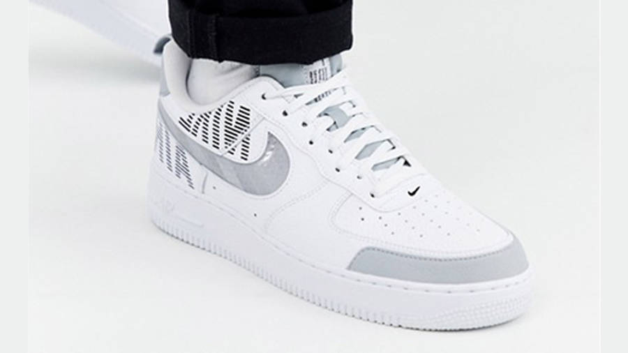 Nike Air Force 1 Low Under Construction White Grey | Where To Buy ...