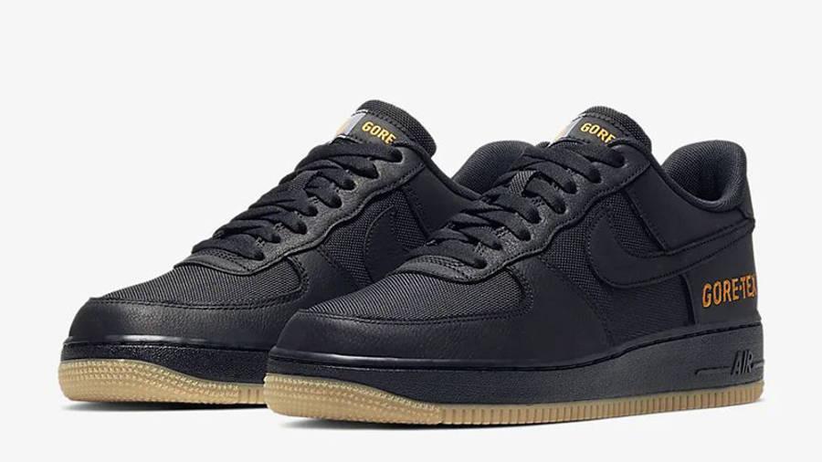 Nike Air Force 1 Low WTR Gore-Tex Black CK2630-001 front