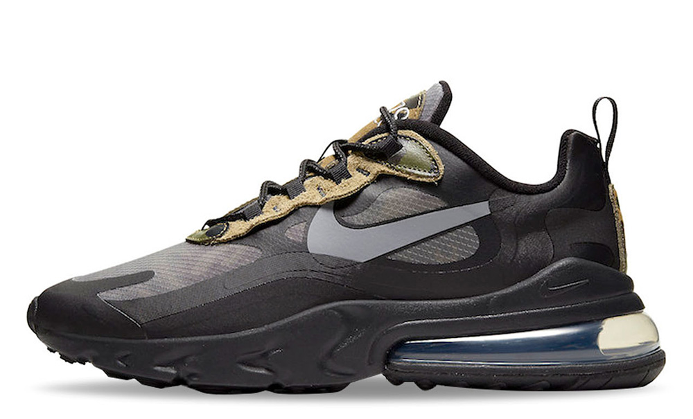 Nike Air Max 270 React Camo Black CT5528-001