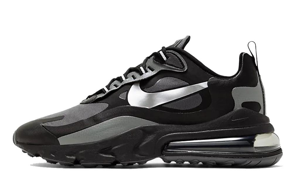 Nike Air Max 270 React Winter Black Silver CD2049-001