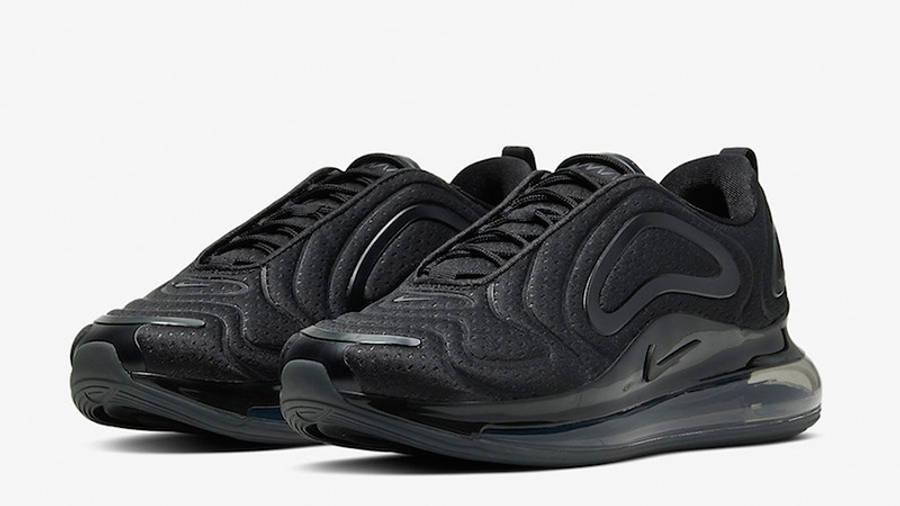 Nike Air Max 720 Triple Black | Where