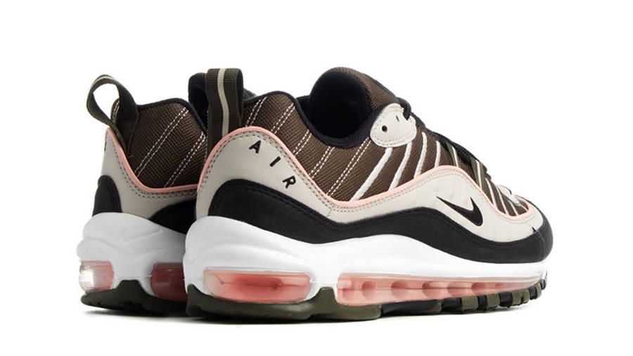 Nike Air Max 98 Khaki Sand AH6799-301 back