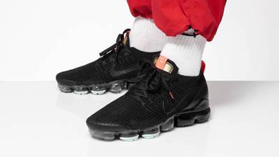 Nike Air VaporMax Flyknit 3 Black Igloo On Foot