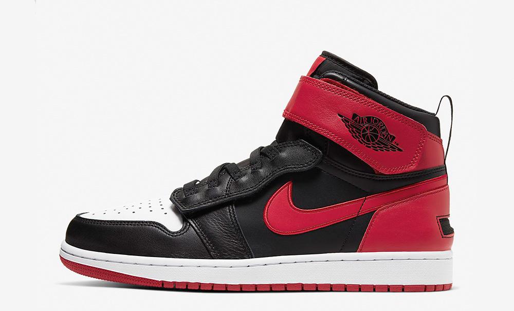 Nike Jordan black red