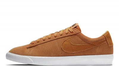 Nike SB Blazer Low GT Orange White 704939-800 side